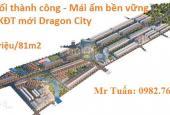 Chỉ có 615 triệu 1 lô đất 81m2 tại TP Thái Bình đến hết tuần này. 0982763269