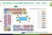 Cần bán lại căn hộ 2PN, 68m2 view công viên Gia Định Golden Mansion Phổ Quang