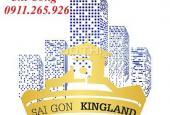 Bán nhà HXH đường Tô Hiến Thành, P13, Q10, DT: 3.3x20m. Giá: 7.7 tỷ