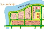 Bán đất DT 240m2 ngang 8m, KDC Trí Kiệt - Nam Long, P. Phước Long B, Q. 9. Giá 28tr/m2