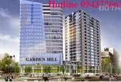 Cho thuê MBKD tại tầng 1, 2, 3 giá 159.29 nghìn/th/m2 tại dự án Garden Hill, 99 Trần Bình, Mỹ Đình