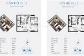 Bán căn 3 phòng ngủ nhỏ 78.84m2 đẹp nhất dự án C46 Bộ Công An, giá chỉ từ 23tr/m2