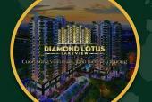 Cần tiền sang nhượng gấp căn hộ xanh Diamond Lotus Lake View gần Đầm Sen. LH: 0931.311.013