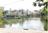 Bán biệt thự Võ Thị Sáu, view hồ, gara ô tô, đẳng cấp thượng lưu DT 110m2 x 4T, MT 9m, 17 tỷ