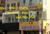 Cho thuê nhà mặt phố Tây Sơn-Nguyễn Lương Bằng 110m2 mt:5m 3tầng 45tr/th Quý mặt phố 0981337456
