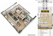 Bán căn hộ chung cư VP2,3,4,5,6 và HH1,2,3,4 Linh Đàm, DT 48-56-76m2, giá từ 750tr - 1,2 tỷ