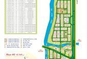 Bán gấp lô góc hai mặt tiền khu dân cư Sadeco Ven Sông Q7