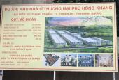 Bán Đất Mặt Tiền Đường Bình Chuẩn 36 - Dự Án Phú Hồng Khang - SHR   Thổ Cư 100%