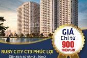 Ruby City CT3 Long Biên dự án có giá tốt nhất Long Biên, đầy đủ tiện ích, nội thất đầy đủ