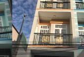 Căn nhà 3,2x15.3m, DTSD 120m2, giá 2.35 tỷ, 3 lầu, sổ hồng riêng, dọn vào ở luôn