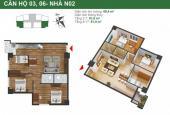 Tôi chính chủ cần bán gấp chung cư K35 Tân Mai căn 1103 tòa N02 DT 81.9m2, giá 22tr/m2: 0936071228