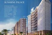 Bán căn hộ chung cư Sunshine Palace, Hoàng Mai, Hà Nội diện tích 78m2, giá 28 triệu/m2