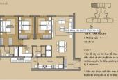 Căn hộ tòa A Mulberry Lane full nội thất, DT 121.15m2