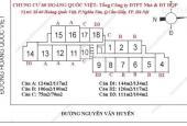 Bán căn hộ số 04 tầng 24 chung cư 60 Hoàng Quốc Việt - Học Viện Kỹ Thuật Quân Sự