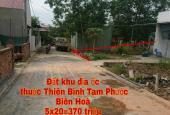 Bên em bán một số lô đất tọa lạc tại Thiên Bình, Tam Phước, Biên Hoà, Đồng Nai