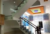 Bán nhà 3 mặt tiền đường Gò Dầu, Q. Tân Phú, hẻm 6m thông, DT 4x18m, 3 tấm, giá 6 tỷ 6