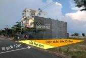Cần tiền bán gấp lô đất 258m2 thổ cư 100% SHR đường 12m xã Phạm Văn Hai giá 2,2 tỷ
