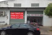Cho thuê nhà xưởng DT: 500m2, giá 32 tr/tháng. Đường Lê Thị Riêng, quận 12