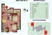 Chính chủ cần bán căn hộ tầng 12 chung cư SUD 143 Trần Phú - Đối diện Big C Hà Đông, 1,25 tỷ
