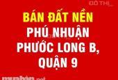 Mua bán, giới thiệu, ký gửi nhanh đất nền dự án Phú Nhuận, Phước Long B, Q. 9, cam kết giá tốt nhất