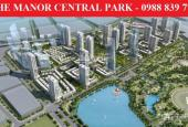 Bán biệt thự The Manor Central Park, 75m2 - 99m2 - 200m2. Giá từ 18 tỷ, đủ nội thất, hỗ trợ LS 0%