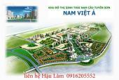 Bán 1 số lô đất nền, giá rẻ nhất thị trường Nam Việt Á