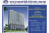 Bán căn hộ chung cư tại dự án Chung cư C1 Thành Công, Ba Đình, Hà Nội DT 61m2 - 64m2 giá 43 tr/m2
