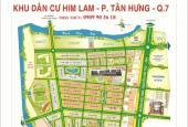 Bán đất nền dự án tại dự án khu đô thị Him Lam Kênh Tẻ, Quận 7, Hồ Chí Minh, DT 200m2, giá 95 tr/m2