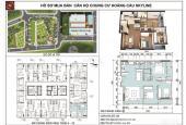 Bán căn hộ 3 PN view hồ 97,5m2 chung cư Hoàng Cầu Skyline giá rẻ