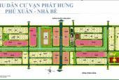 Chính chủ cần bán gấp đất nền nhà phố  ngay KDC Phú Xuân Vạn Phát Hưng. LH 0938294525