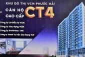Bán căn góc tầng 4 chung cư CT4 Phước Hải, Nha Trang, chênh 60tr, LH 0938161427