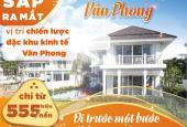 Nhanh tay sở hữu đất nền sổ đỏ duy nhất tại khu KT Vân Phong, chỉ từ 555 triệu/nền, 0906.094.196