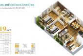 Bán gấp căn hộ chung cư Anland Complex, căn góc B09 diện tích 89,19m2, 3 PN, 2 VS, giá 2,5 tỷ