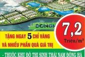 Mở bán dự án đất nền Đông Hà Center, ngay trung tâm thành phố Đông Hà, Quảng Trị, giá chỉ 7.2 tr/m2