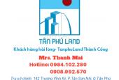 Bán nhà đường Nguyễn Súy, Quận Tân Phú, dt 3.5mx13.2m, hẻm 6m, giá 3.6 tỷ
