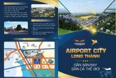 Giá cực hot, chỉ từ 7-8 triệu/m2 sở hữu ngay đất nền sân bay Long Thành, mặt tiền đường 32m