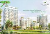 Bán căn 3 PN, 2 PN Valencia hướng Đông Nam, tầng 8 view Vinhomes Riverside tại khu đô thị Việt Hưng