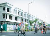 Bán shophouse DTXD 137m2, căn góc 2 mặt đường Centa City Vsip Bắc Ninh