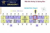 Bán chính chủ căn hộ view hồ bơi Q1, dự án Topaz Elite Dragon 1B 60m2, TT 920tr, LH 0966901941