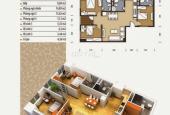 Cần bán gấp căn hộ 102m2, 3PN, view thoáng, giá 1 tỷ 8 BST tại The Pride.