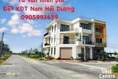 Mở bán nhà xây thô khu D1 - khu đô thị mới phía Nam Hải Dương - TP. Hải Dương