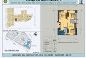 CC cần bán gấp CH số 17, tại CT5 Xa La, Hà Đông, 2 phòng ngủ, 2wc, ban công ĐN, giá 1 tỷ 180tr