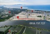 Cần bán 3 lô đất ven sông Cổ Cò, dự án Golden Coco, đã có sổ đỏ. LH: 0916.737.727