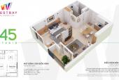 Cần bán căn hộ chung cư Westbay, KĐT Ecopark, 1 PN + 1 WC, giá 1 tỷ 020 tr bao phí. 0963522001