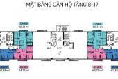 Bán căn hộ C1 Thành Công view hồ DT 61m2 - 88m2, giá chỉ từ 2 tỷ