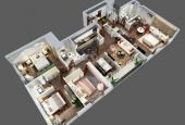 Bán căn hộ chung cư 4 phòng ngủ Full đồ diện tích 140m2 giá 3.3 tỷ- Chỉ cần 25% vào ở