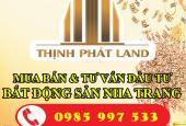 Bán nhà đường Lam Sơn trung tâm thành phố Nha Trang 80 triệu/m2. LH 0985.997.533