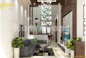 Chỉ còn 1 căn nhà 4 tầng x 43m2 duy nhất siêu đẹp tại Vân Canh, Hoài Đức, oto đỗ cửa LH 0966602074