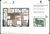 Cần bán căn 86.4m2 chung cư The Emerald CT8 Đình Thôn Mỹ Đình, 2.6 tỷ