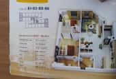 Bán căn hộ chung cư HUD Building Nha Trang, Khánh Hòa DT 63,07m2 giá HĐ + Chênh 450 tr căn gốc CH16